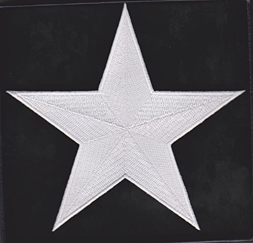 Captain America Star - Avengers Captain America Movie Star Patch Iron/Sew on friendly