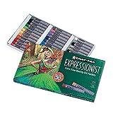 Sakura XLP36 36-Piece Cray-Pas Expressionist Oil Pastel Set, Assorted Color