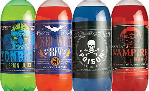 Morbid Enterprises - Halloween Glow in The Dark Soda Bottle -