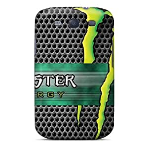 ShinnyStore Galaxy S3 Hybrid Tpu Case Cover Silicon Bumper Monster