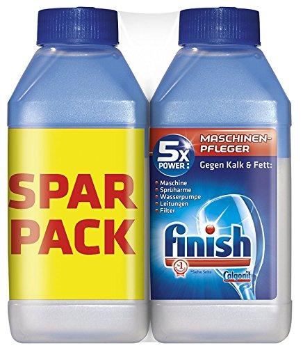Finish Maschinenpfleger Doppelpack, (2 x 250 ml)