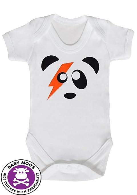Pelele de bebé panda Ziggy Stardust/chaleco para bebé/body ...