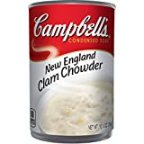 Campbell's Condensed New England Clam Chowder, 10.5 oz. Can (Pack of...