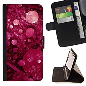 - Purple Marble Powder Nature - Estilo PU billetera de cuero del soporte del tir???¡¯????n [solapa de cierre] Cubierta- For Samsung Galaxy S5 Mini, SM-G800 £š Devil Case £©