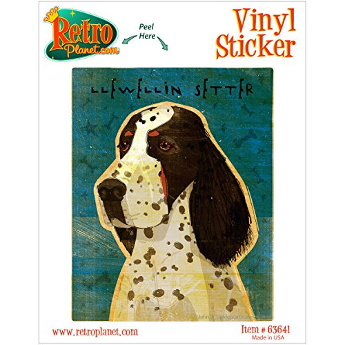 Llewellin Setter Dog Pet Vinyl Sticker Car Laptop Decal Llewellin Setters