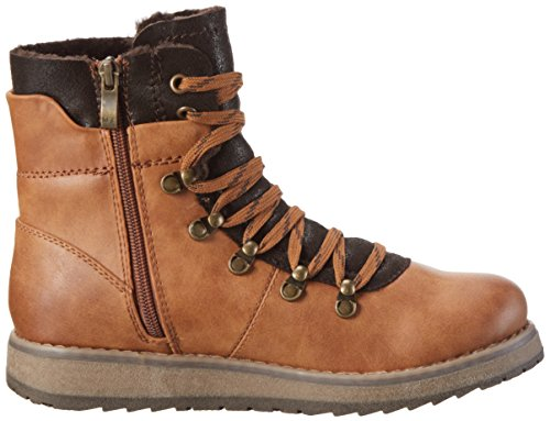 366 muscat Ant Mujer 26205 Militar Marco com Para Tozzi Botas Marrón vHw70
