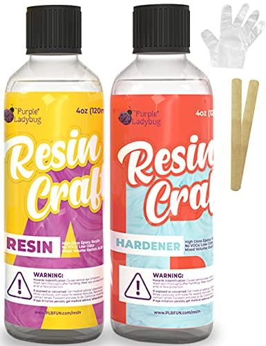 Resina epoxy 2 comp.120ml c/u +guantes