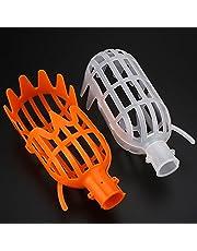 "attachmenttou Fruit Picker Basket Head Plastic Labor Saving Tool Fruits Catcher for Harvest 7.8 * 3.1 * 3.1"""