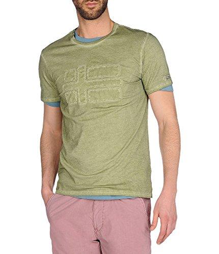 NAPAPIJRI SLAJ T-Shirt grey olive