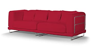 dekoria fire retardant ikea tylsand housse de canap 3 places rouge - Housse Canape Ikea Tylosand