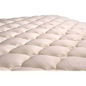 Amazon Com Virtuevalue Bamboo Mattress Pad With Fitted