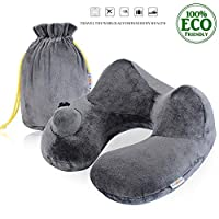 FINDANOR Inflatable Travel Pillow