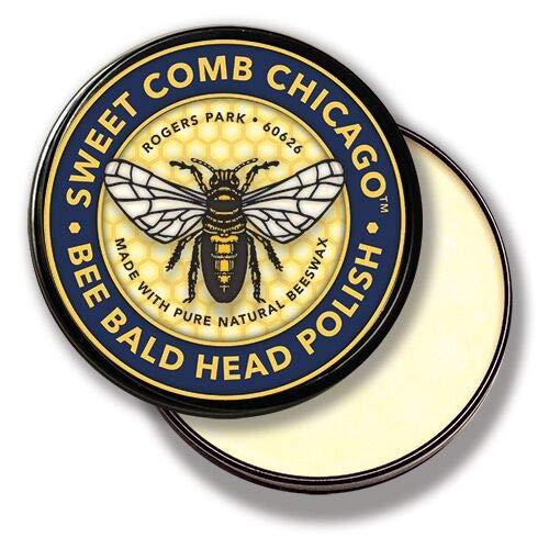 SWEET COMB CHICAGO Bee Bald Head Polish, 4 -