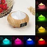 DZT1968 7 Colors LED Ultrasonic Aroma Humidifier Air Aromatherapy...