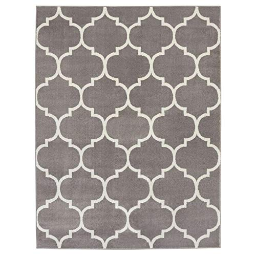 Sweet Home Stores King Collection Moroccan Trellis Design Area Rug, 7'10