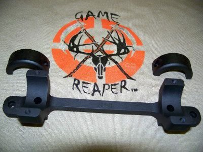 Game Reaper Browning-A Bolt-Long Action-Low Mount (Black)