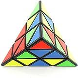 Wings of wind - Eco-friendly Plastics Speed Pyraminx Magic Cube Triangular Puzzle Cube (Black)