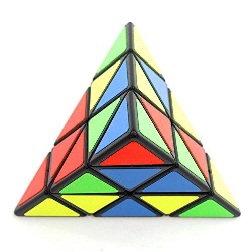 Wings of wind - Speed Cube Pyramide Zauberwürfel Magic Cube (schwarze)