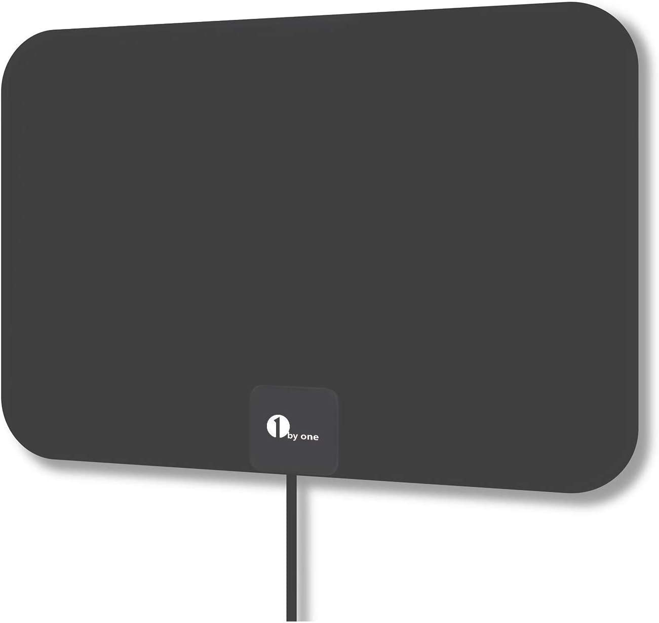 Latest HD Digital Amplified TV Antenna - Support 4K 1080P & All Older TV's Indoor Powerful HDTV Amplifier Signal Booster - Coax Cable Included