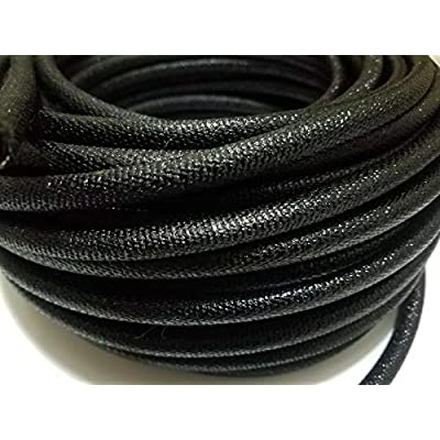 "10 feet 5/16"" I.D. Asphalt Cloth Wire Loom Original Restoration Conduit Vintage Quality Accessories for Motorcycle Car Tuning by Tuning_Store: Home Improvement"
