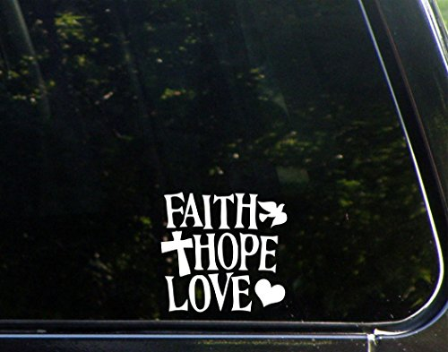 prayer window decal - 6