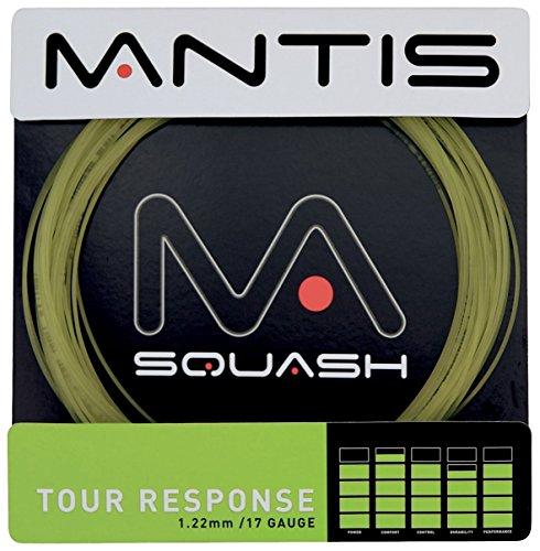Mantis Tour Response Squash Racket String - 17G 10m Natural