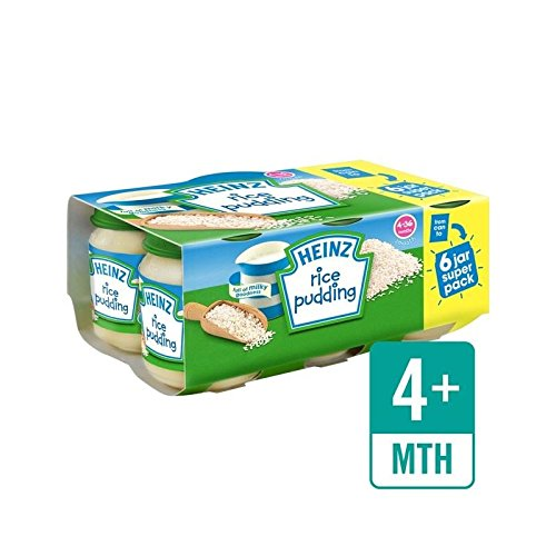 Heinz Rice Pudding Jar 6 x 120g - Pack of 2