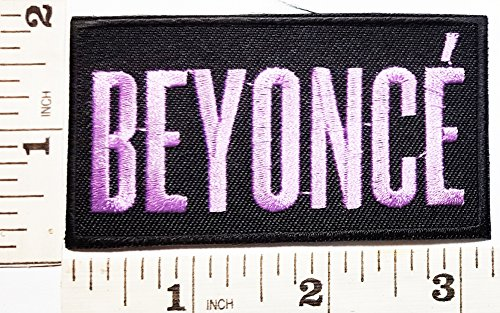 Beyonce patch Jacket T-shirt Patch Sew Iron on Embroidered Sign Badge - Beyonce Costume