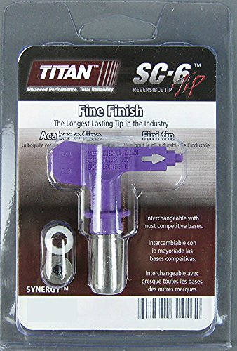 Titan 671-408 or 671408 Synergy Fine Finish Airless Spray Tip