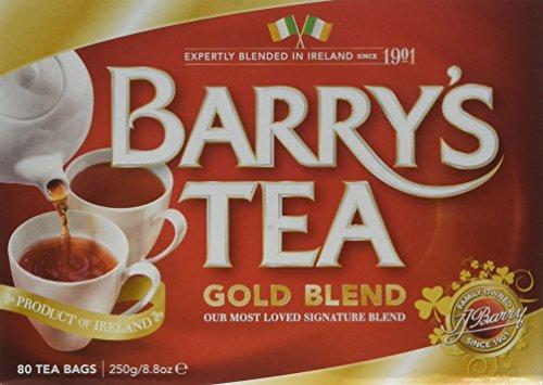 Irish Tea (Barry's Tea Gold Blend Tea Bags)