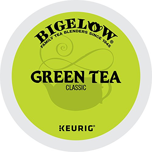 Bigelow Green Tea Keurig Single-Serve K-Cup Pods, 24 Count (Best Keurig Green Tea)