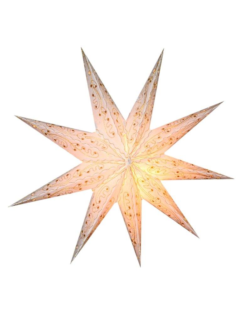 Sonia Originelli Weihnachtsstern 60cm Papier-Stern Weihnachtsdeko Neu