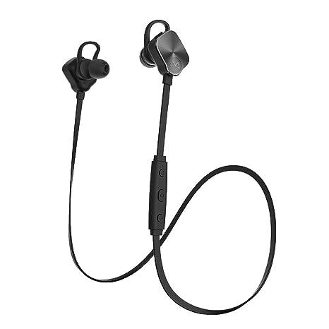 Auriculares Bluetooth Mpow Auriculares magnético inalámbrico auriculares, [nueva versión] auriculares inalámbricos estéreo deporte