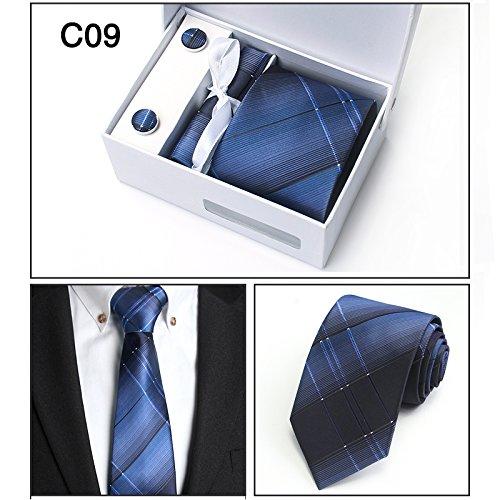 LINGDAI Hombres Vestido Formal Negocios Carrera Casarse Tie ...