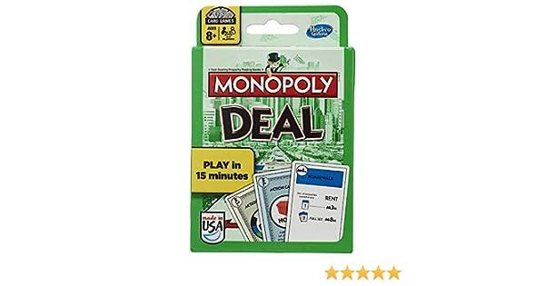 Monopoly Card Game Trato [Importado de Inglaterra]