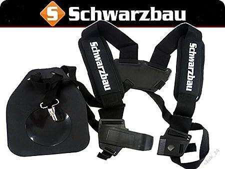 DE Doppel Schultergurt Tragegurt Für Motorsense Freischneider Trimmer NEU
