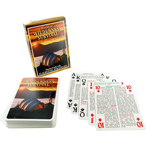 SEA and SKY Wilderness Survival Playing Cards ()