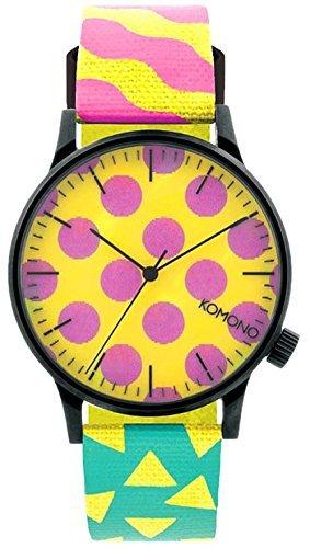 [Small] KOMONO watch 3 needle WINSTON KOM-W2166 [parallel import goods] by KOMONO (small)