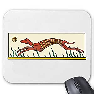 "Mousepad Computer Mouse "" Greyhound Cartoon Animation Fun Film Series DVD"" For your laptop, notebook or PC Internet .. (Windows Linux, etc.) ... the ideal gift for Christmas - birthday - Easter ... or just for yourself by Reifen-Markt"