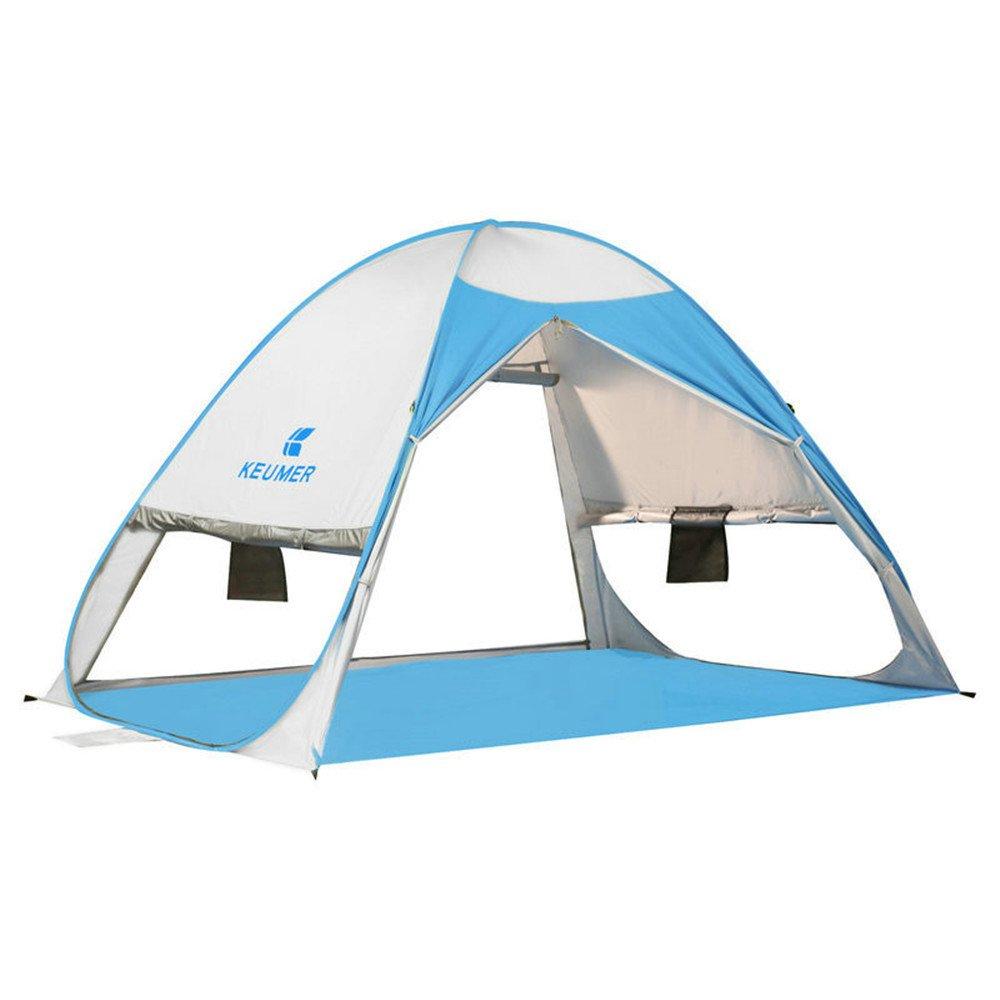 2-3人キャンプテントシェードバックパックテント自動瞬間ポップアップテント釣りとビーチ B07C1X2BRK B07C1X2BRK, オフィス家具ガジェット:b1780e2c --- ijpba.info