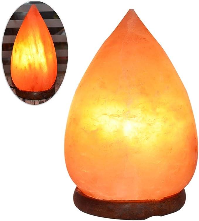 Iluminación infantil nocturna Lámpara de Cristal de Sal Lámpara de Sal Himalaya de Noche luz de la Noche Regalos creativos lámpara de Mesa Decorativo Regalo Lámparas e iluminación: Amazon.es: Hogar