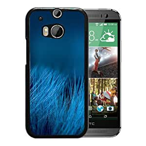 Beautiful Blue Grass Durable High Quality HTC ONE M8 Phone Case