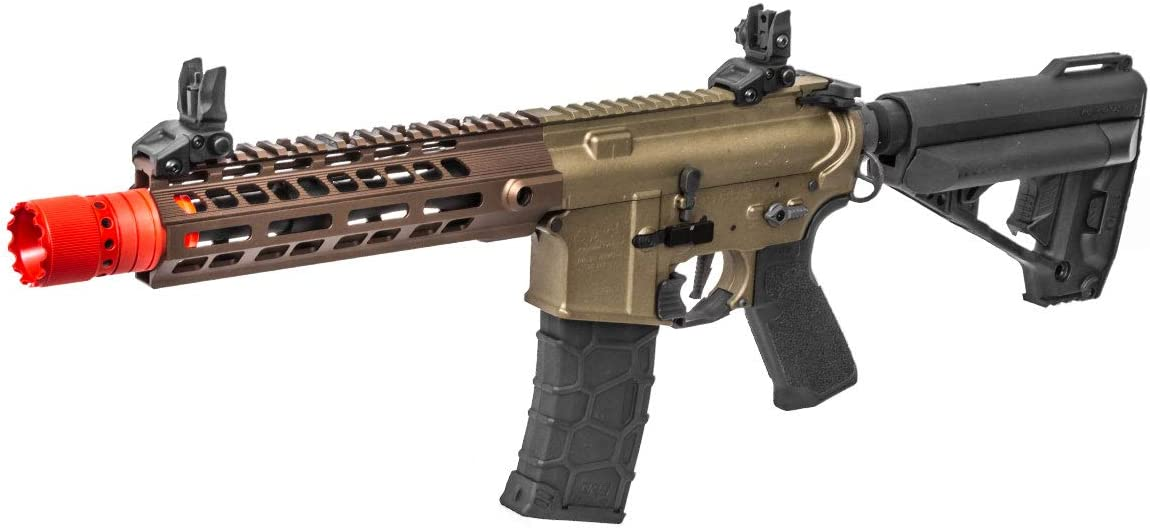 Elite Force Avalon Gen 2 Saber M4 CQB M-LOK AEG Airsoft Rifle by VFC Tan