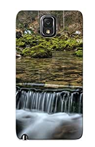 Eatcooment Durable Small Forest Waterfall Back Case/ Cover For Galaxy Note 3 For Christmas' Gifts