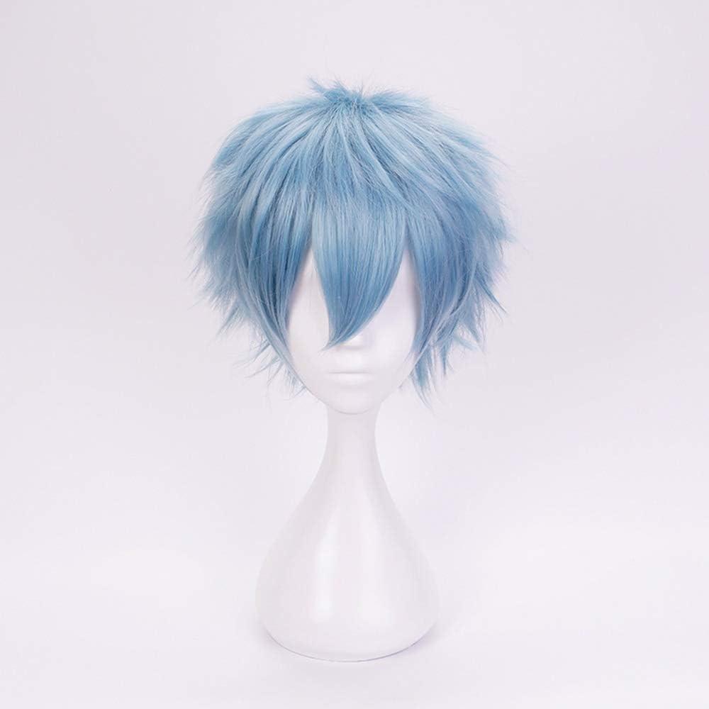 My Hero Academia Shigaraki Tomura Short Blue Cosplay Peluca Pelo ...