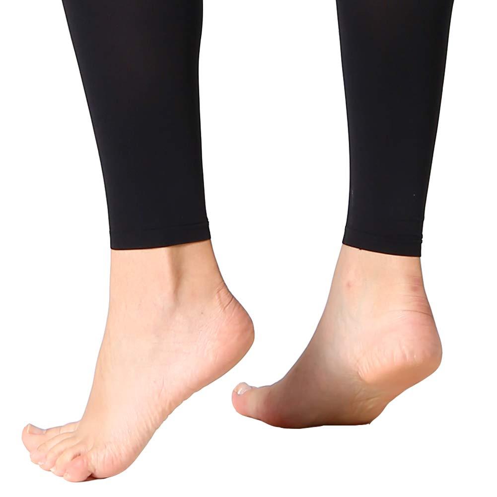 para mujer Mallas sin pies para baile de ballet MANZI color negro y marr/ón 70 denier