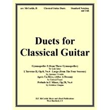 Duets for Classical Guitar (Sheet Music and TAB for the Guitar Book 5)