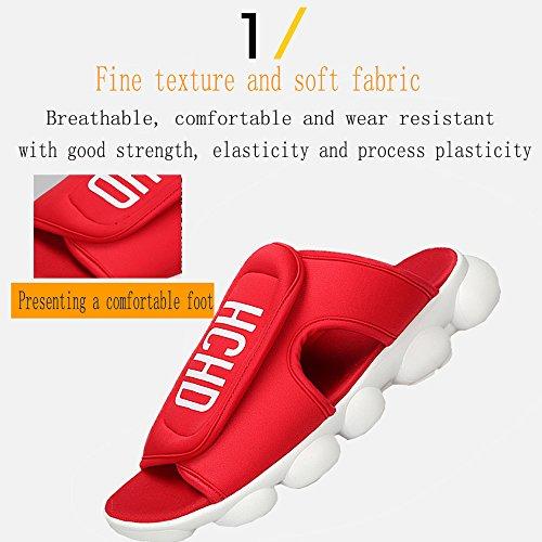 Nuevas Zapatos Verano Verano De Zapatillas Amantes Los De De Black De Zapatos Zapatillas Velcro Mujeres Luz 2018 Los Las Viaje De De Sandalias Zapatos De Planos De 39 ZwCxqUS