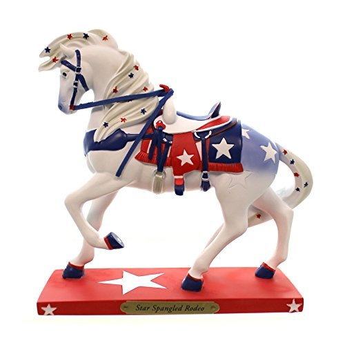 (Trail of Painted Ponies Star Spangled Rodeo Figurine)