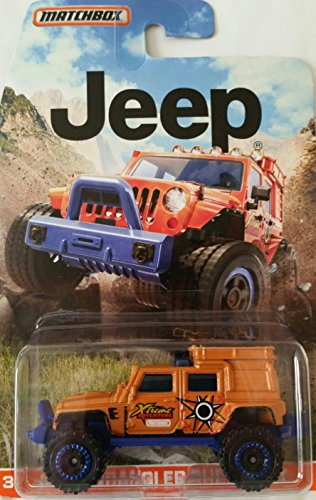 Superlift Jeep - Matchbox Jeep Wrangler Superlift Orange